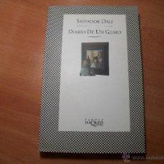 Libros de segunda mano: DALÍ. DIARIO DE UN GENIO.. Lote 51173854