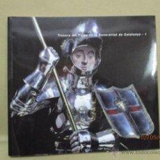Libros de segunda mano: TRESORS DEL PALAU DE LA GENERALITAT DE CATALUNYA - 1. MNAC - 2000. COMO NUEVO. . Lote 111934214