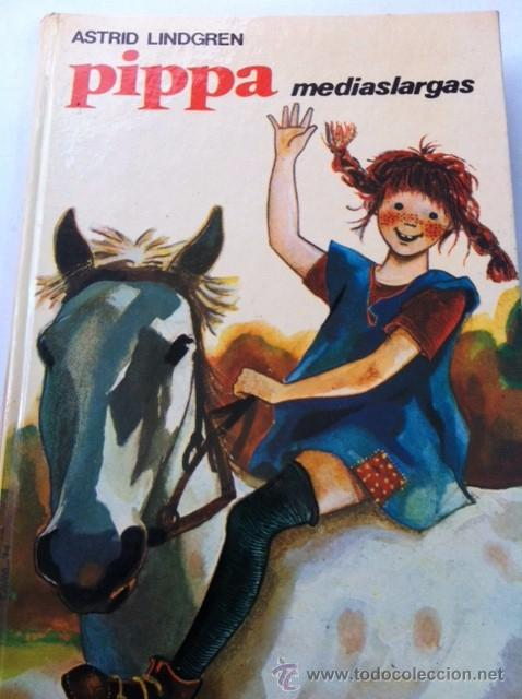 PIPPA MEDIEASLARGAS EDITORIAL JUVENTUD 1975 ASTRID LINDGREN ILUSTRADO POR RICHARD KENNEDY (Libros de Segunda Mano - Literatura Infantil y Juvenil - Otros)