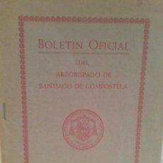 Libros de segunda mano: BOLETIN OFICIAL DEL ARZOBISPADO DE SANTIAGO COMPOSTELA. Lote 51204491