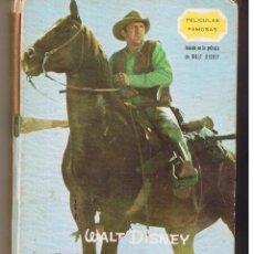 Libros de segunda mano: PALICULAS FAMOSAS. AVENTURA EN EL OESTE. WALT DISNEY. EDICIONES GAISA 1968. (P/B12). Lote 51207451