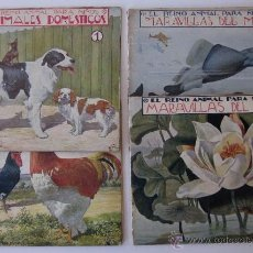 Libros de segunda mano: CUATRO LIBROS EL REINO ANIMAL PARA NIÑOS. Lote 51214268