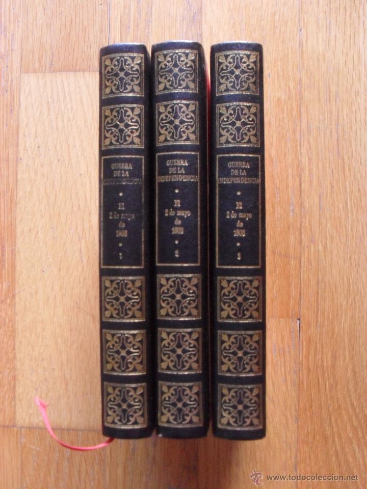 LA GUERRA DE LA INDEPENDENCA 2 DE MAYO ,3 TOMOS CIRCULO AMIGOS DE LA HISTORIA (Libros de Segunda Mano - Historia - Otros)