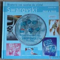 Libros de segunda mano: BISUTERIA CON CUENTAS DE CRISTAL SWAROVSKI (LIBRO Y DVD). Lote 51410728