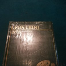 Libros de segunda mano: LEONARDO - GRANDES MAESTROS DEL ARTE - EDITORIAL MARIN - ILUSTRADO - LIBRO PRECINTADO. Lote 51416325