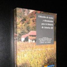 Libros de segunda mano: COLECCION DE TEXTOS Y DOCUMENTOS PARA LA HISTORIA DE ASTURIAS (II). Lote 51443572
