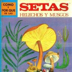 Libros de segunda mano: MOLINO : CÓMO Y POR QUÉ DE LAS SETAS, HELECHOS Y MUSGOS (1973). Lote 56084316