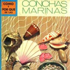 Libros de segunda mano: MOLINO : CÓMO Y POR QUÉ DE LAS CONCHAS MARINAS (1973). Lote 101460000