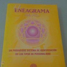 Libros de segunda mano: EL ENEAGRAMA UN PRODIGIOSO SISTEMA DE IDENTIFICACIÓN DE TIPOS DE PERSONALIDAD - HELEN PALMER. Lote 51456845