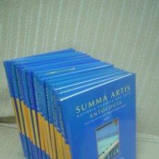 Libros de segunda mano: SUMMA ARTIS. HISTORIA GENERAL DEL ARTE. ANTOLOGÍA. 14 TOMOS (DE 16). Lote 51594503