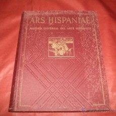 Libros de segunda mano: ARS HISPANIAE VOL. XVI - ESCULTURA DEL SIGLO XVII. Lote 51599979