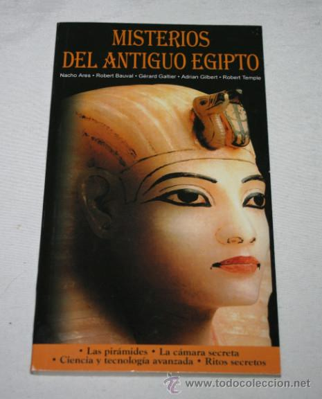 MISTERIOS DEL ANTIGUO EGIPTO, LECCION AÑO CERO, LIBRO (Libros de Segunda Mano - Parapsicología y Esoterismo - Otros)