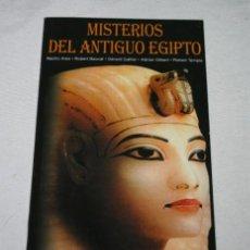 Libros de segunda mano: MISTERIOS DEL ANTIGUO EGIPTO, LECCION AÑO CERO, LIBRO. Lote 51617637