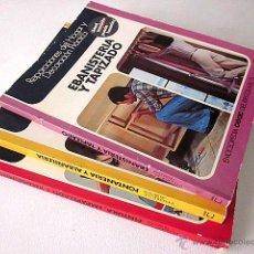 Libros de segunda mano: LOTE ENCICLOPEDIA CEAC DEL BRICOLAJE. NÚMEROS 1, 3 Y 5. SEGUNDA EDICIÓN 1977. Lote 51642404