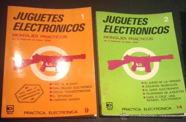 Lote Libro De 1981 Juguetes Electronicos Montaj Comprar En