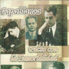 Libros de segunda mano: PACTO CON LA INMORTALIDAD. G.M.F. VIVIAN RAMÓN PITA. EDITORIAL DEPORTES. LA HABANA. CUBA. 2008. Lote 51661645