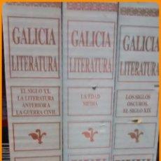 Libros de segunda mano: PROYECTO GALICIA. LITERATURA, INCOMPLETO 3 TOMOS, 30-31,32. HÉRCULES DE EDICIONES.. Lote 51693366