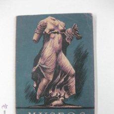 Libros de segunda mano: MUSEOS 37. JUAN SUBIAS GALTER. SEIX BARRAL HNOS.1944.. Lote 51707009