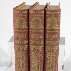 Livres d'occasion: L-1009. HISTORIA DEL PONTIFICADO. MANUEL ARAGONÉS VIRGILI. TRES VOLUMENES. EDIT CASULLERAS 1945. Lote 101095574