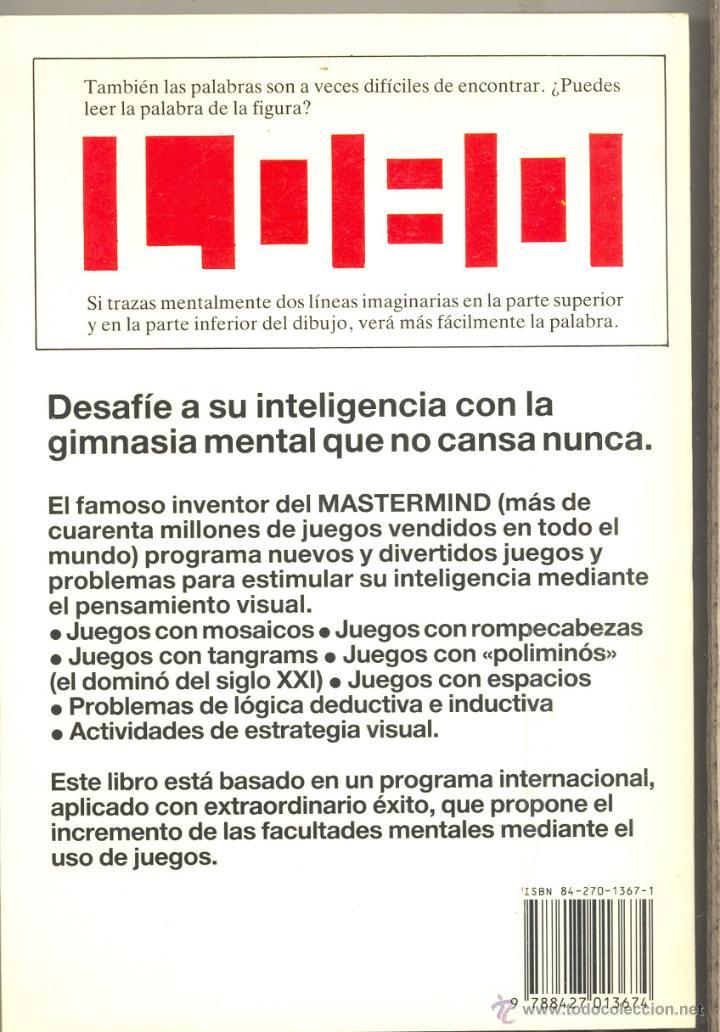 Pensamiento Visual Desarrolle Su Inteligencia Comprar En