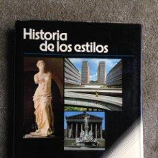 Libros de segunda mano: HISTORIA DE LOS ESTILOS. VARIOS AUTORES. CEAC. BARCELONA 1979. Lote 51722203