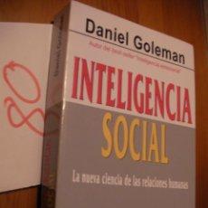 Libros de segunda mano: INTELIGENCIA SOCIAL - GOLEMAN. Lote 51751919