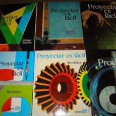 Libros de segunda mano: PROYECTAR ES FACIL - AFHA. Lote 77109547