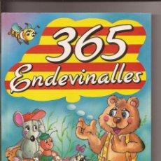 Libros de segunda mano: 365 ENDEVINALLES - GRAFALCO. Lote 51786230