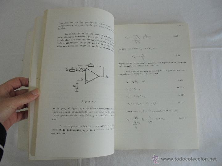 Libros de segunda mano: ELECTRONICA ANALOGICA. F. ALDANA. P.MARTINEZ. J. UCEDA. ESCUELA SUPERIOR DE INGENIEROS INDUSTRIALES. - Foto 9 - 51918645