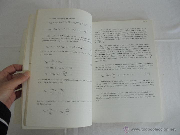 Libros de segunda mano: ELECTRONICA ANALOGICA. F. ALDANA. P.MARTINEZ. J. UCEDA. ESCUELA SUPERIOR DE INGENIEROS INDUSTRIALES. - Foto 12 - 51918645