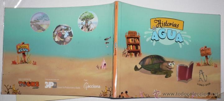 HISTORIAS DEL AGUA LIBRO DVD ACCIONA (Libros de Segunda Mano - Literatura Infantil y Juvenil - Otros)