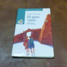 Libros de segunda mano: LIBRO. Nº 16 SOPA DE LIBROS.- EL PAZO VACIO.- ILUSTRACIONES XOSÉ COBAS. Lote 51940906