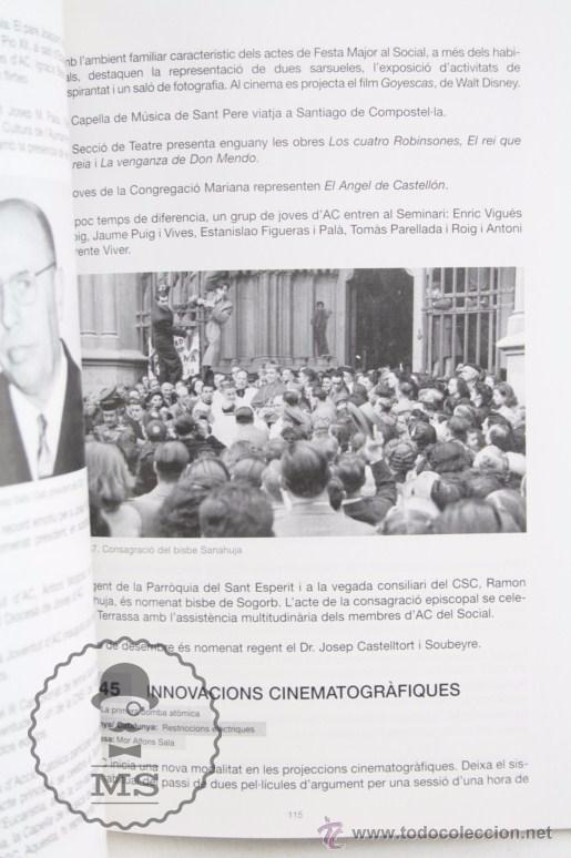 Libros de segunda mano: Libro en Catalán - El Social 1878-2003. Joaquim Verdaguer i Caballé - Terrassa - Año 2003 - Foto 3 - 51942345
