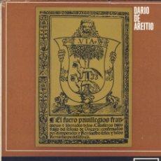 Libros de segunda mano: DARÍO DE AREITIO. TEMAS HISTÓRICOS VASCOS. BILBAO, 1969. PAIS VASCO. Lote 51932393