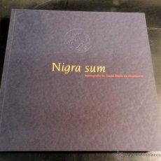 Libros de segunda mano: NIGRA SUM : ICONOGRAFIA DE SANTA MARIA DE MONTSERRAT .- LAPLANA PUY, JOSEP Y OTROS,. Lote 51994703
