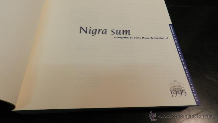 Libros de segunda mano: NIGRA SUM : ICONOGRAFIA DE SANTA MARIA DE MONTSERRAT .- LAPLANA PUY, JOSEP Y OTROS, - Foto 3 - 51994703