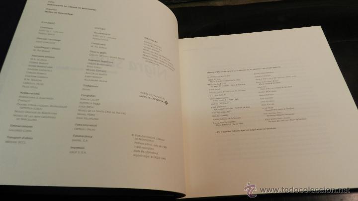 Libros de segunda mano: NIGRA SUM : ICONOGRAFIA DE SANTA MARIA DE MONTSERRAT .- LAPLANA PUY, JOSEP Y OTROS, - Foto 4 - 51994703