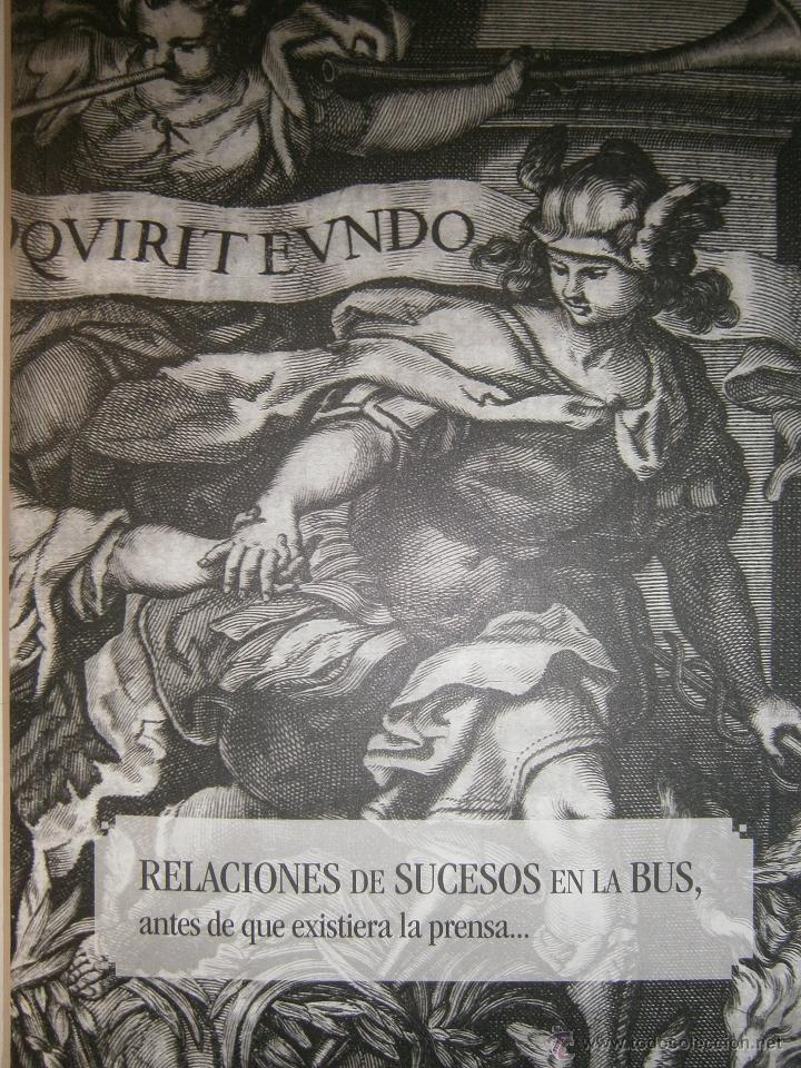 RELACIONES DE SUCESOS EN LA BUS ANTES DE QUE EXISTIERA LA PRENSA UNIVERSIDAD DE SEVILLA 2008 (Libros de Segunda Mano - Bellas artes, ocio y coleccionismo - Otros)