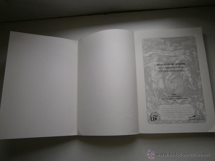 Libros de segunda mano: Relaciones de sucesos en la bus antes de que existiera la prensa Universidad de Sevilla 2008 - Foto 9 - 52008250