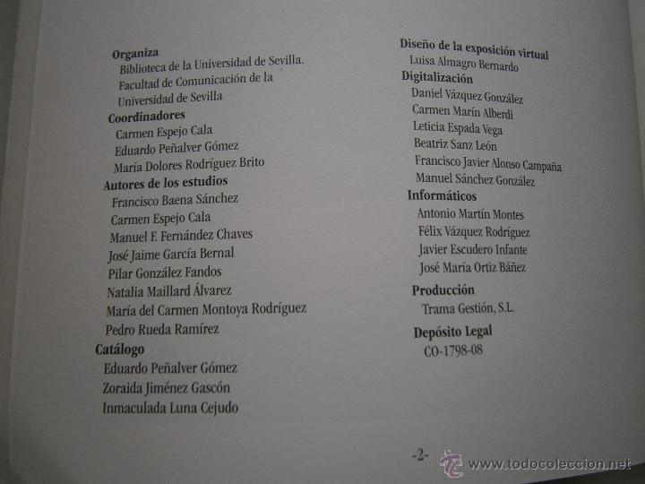 Libros de segunda mano: Relaciones de sucesos en la bus antes de que existiera la prensa Universidad de Sevilla 2008 - Foto 11 - 52008250