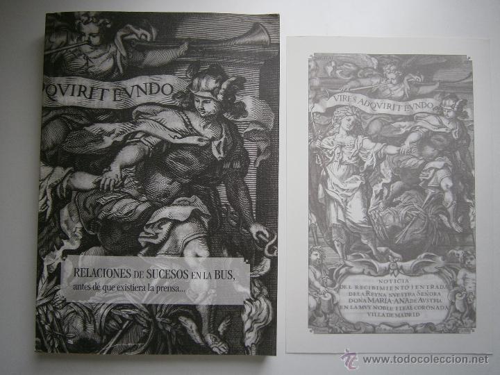 Libros de segunda mano: Relaciones de sucesos en la bus antes de que existiera la prensa Universidad de Sevilla 2008 - Foto 14 - 52008250