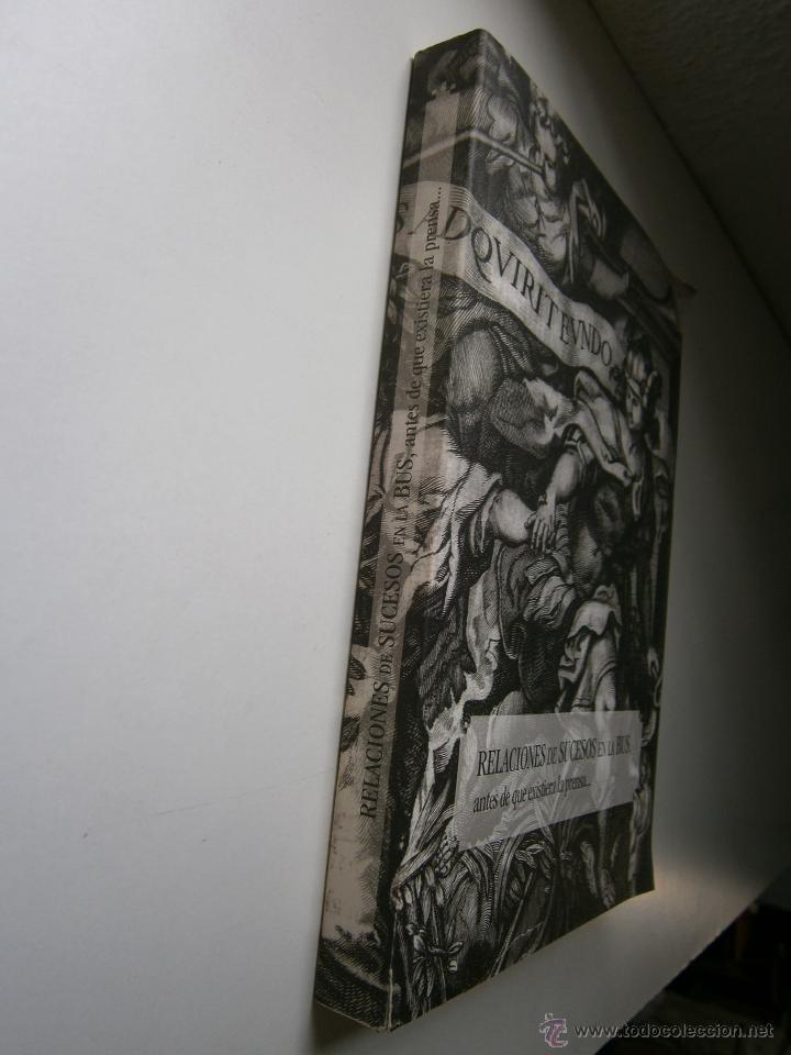 Libros de segunda mano: Relaciones de sucesos en la bus antes de que existiera la prensa Universidad de Sevilla 2008 - Foto 15 - 52008250