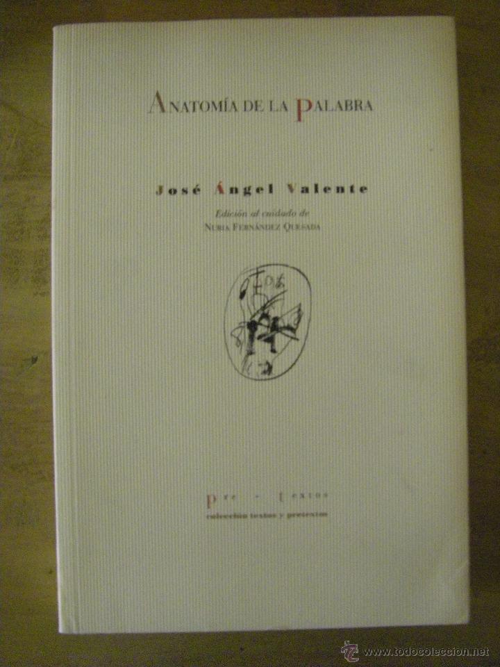 anatomía de la palabra - Comprar en todocoleccion - 52026195
