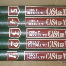 Libros de segunda mano: CREA Y DECORA TU CASA DE MUÑECAS.. Lote 52122050