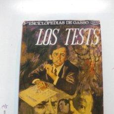 Libros de segunda mano: LOS TESTS. KARL WOOLMAN. GASSO HERMANOS EDITORES 1973.. Lote 52131636
