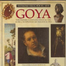 Libros de segunda mano: LIBRO GUIA ILUSTRADA DEL PINTOR GOYA . Lote 52299690
