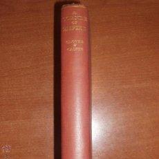 Libros de segunda mano: A CORNER OF EMPIRE. THE OLD ONTARIO STRAND BY T.R. GLOVER AND D.D. CALVIN. CAMBRIDGE 1937. Lote 52306331