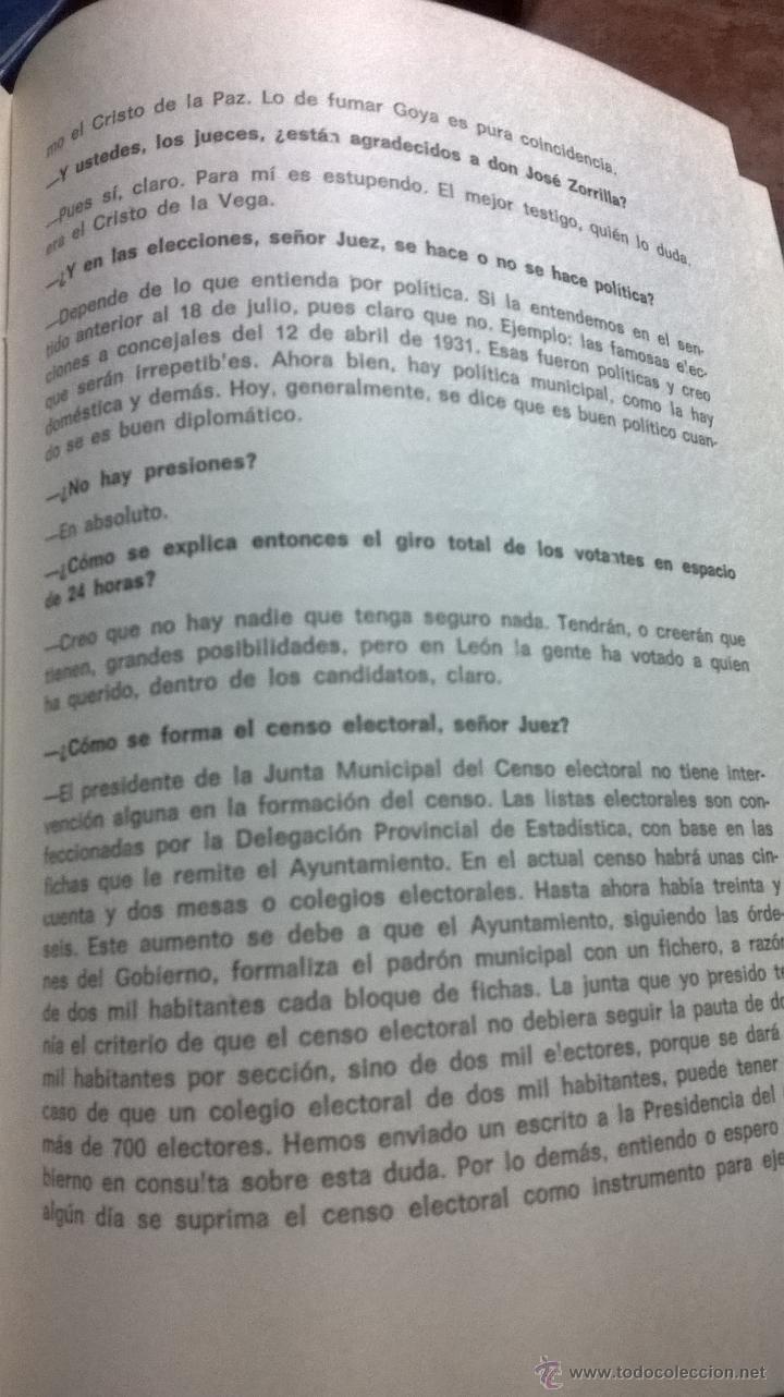 Libros de segunda mano: HABLANDO DE LEON SIN IRA. CHENCHO. LEÓN. 1975. DEDICADO POR AUTOR - Foto 2 - 41502910