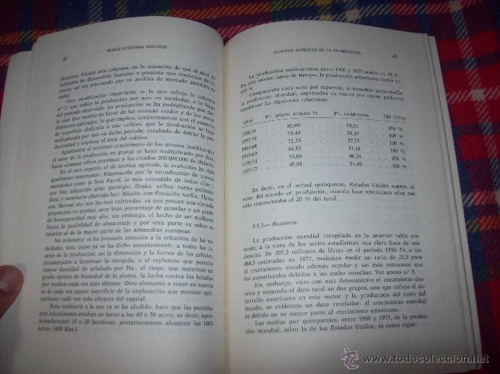 Libros de segunda mano: ALGUNOS ASPECTOS DE LA PRODUCCIÓN DE ALMENDRA EN MALLORCA.PEDRO QUINTANA.1981.ÚNICO EN TC!!!!!!!!!!! - Foto 7 - 52336686
