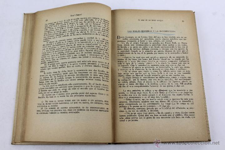 Libros de segunda mano: L-2652 EL ARTE DE NO TENER AMIGOS Y NO DEJARSE CONVENCER POR LAS PERSONAS.NOEL CLARASÓ 1947 - Foto 6 - 52365351